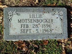 Lillie Motsenbocker