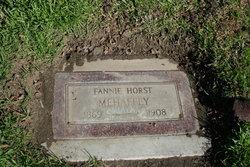 Fannie Caroline <I>Horst</I> Mehaffey
