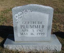 Gertrude <I>Jefferson</I> Plummer