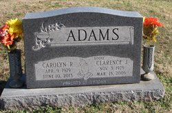 "Clarence J ""Boone"" Adams"