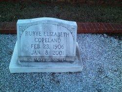 Rubye Elizabeth <I>Watkins</I> Copeland