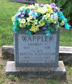 Hermon F Wappler