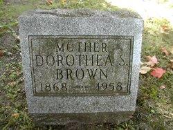 "Dorothea ""Dora"" <I>Shafer</I> Brown"