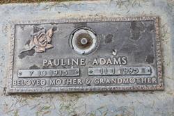 Pauline Pearl <I>Swearengin</I> Adams