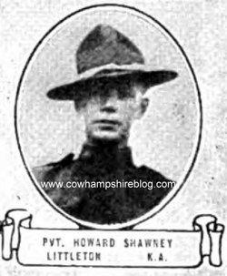 PFC Howard Henry Shawney