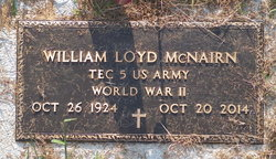 "William Loyd ""Tinker"" McNairn"