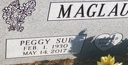 Peggy Sue <I>Light</I> Maglaughlin