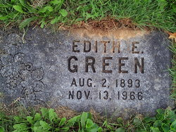 Edith Edna <I>Stough</I> Green