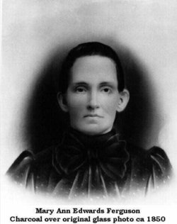"Mary Ann ""Polly"" <I>Edwards</I> Ferguson"