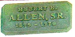 Hubert Ethan Allen, Sr