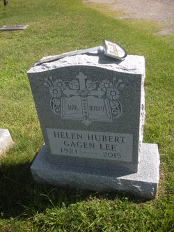 Helen <I>Hubert</I> Gagen Lee
