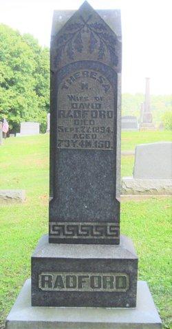 Theresa M. <I>Rice</I> Radford