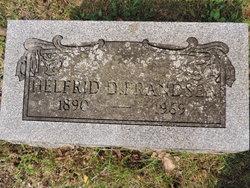 Helfrid Helene <I>Duus</I> Frandsen