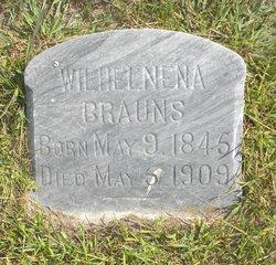 Wilhelmena Henrietta <I>Schuster</I> Brauns