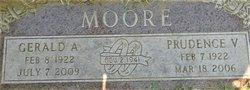 "Prudence Virginia ""Peggy"" <I>Nelsen</I> Moore"