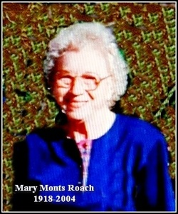 Mary Lee <I>Monts</I> Roach