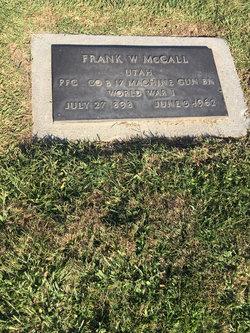 Frank W Mc Call