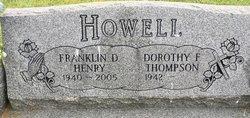 """Franklin Delane """"Henry"""" Howell"""