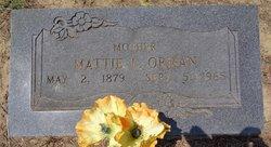 Mattie Lavoney <I>Athey</I> Orman