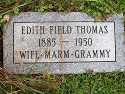 Edith <I>Field</I> Thomas