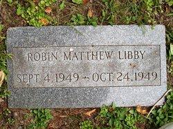 Robin Matthew Libby