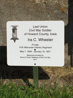 Pvt Ira Calvin Wheeler