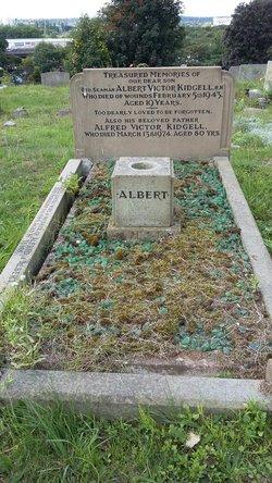 Ordinary Seaman Albert Victor Kidgell