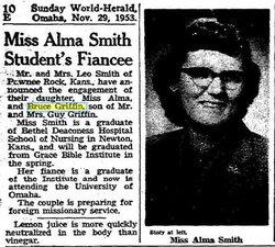 Alma Alice <I>Smith</I> Griffin