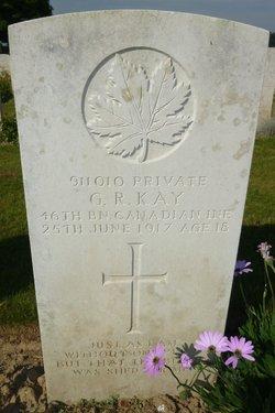 Pvt George Robert Kay