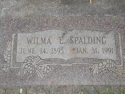 Wilma <I>Hinshaw</I> Spalding