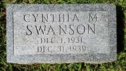 Cynthia M. Swanson