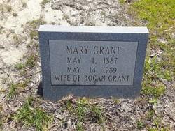 Mary <I>Bittle</I> Grant