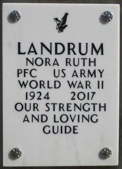 Nora Ruth Landrum