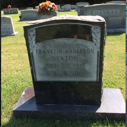 Franklin Anderson Deaton