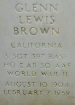 Glenn Lewis Brown