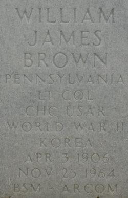 William James Brown