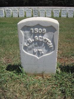 Pvt Thomas B. Sexton