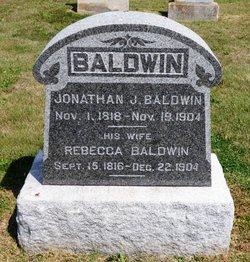 Rebecca <I>Hildebrand</I> Baldwin
