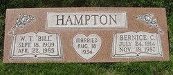 Bernice A <I>Condict</I> Hampton