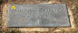 Harold J Greene