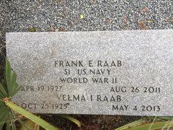 Velma Irene <I>Bradford</I> Raab
