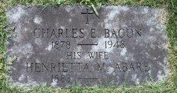 Henriette Marie <I>Abare</I> Bacon