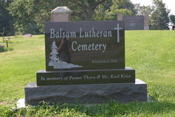 Balsam Lutheran Church Cemetery