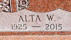 Alta Lucille <I>Wilcox</I> Beilke