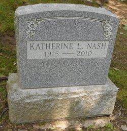 Katherine L. <I>Leather</I> Nash