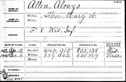 Alonzo Allen