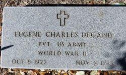 PVT Eugene Charles Degand