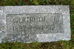 Gertrude Evelyn <I>Coombs</I> Webb