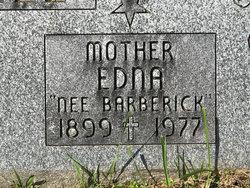 Edna Mae <I>Barberick</I> Finnell