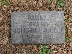 Sarah Blundell